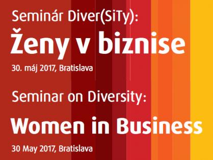 Seminár Diver(SiTy): Ženy v biznise