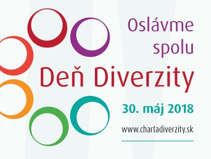 30. máj 2018 - Oslávme spoločne Deň Diverzity