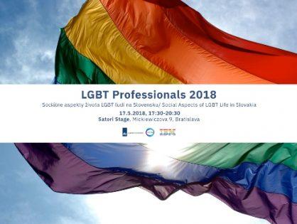 Podujatie LGBT Professionals 2018