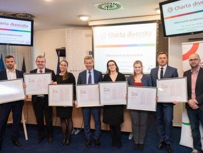 Charta diverzity Slovensko má už 50 signatárov
